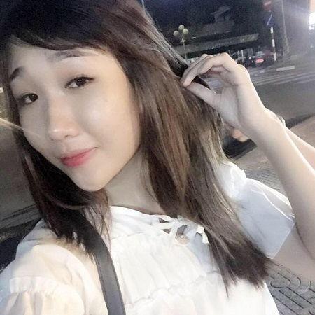 Diện mạo thay đổi bất ngờ sau bấm mí của Huỳnh Như7677