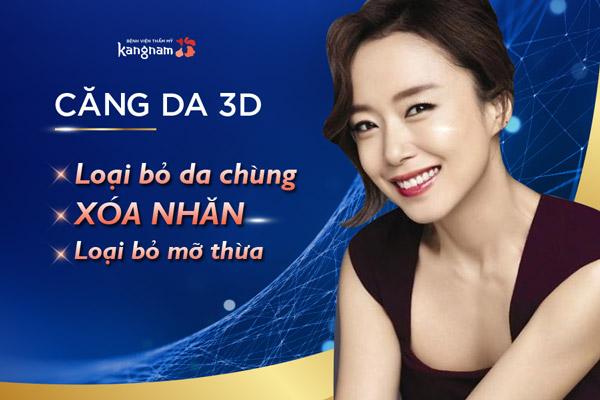 căng da 3D trẻ hóa da