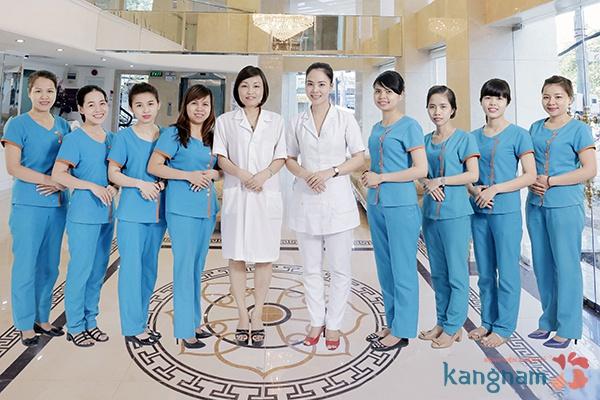 bác sĩ bệnh viện thẩm mỹ kangnam