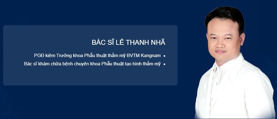 đội ngũ bác sĩ chuyên khoa mắt BVTM Kangnam