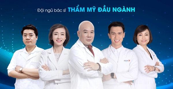 đội ngũ bác sĩ kangnam