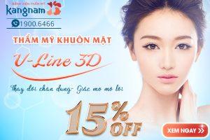 OFF 15% Thẩm mỹ hàm mặt VLine 3D – Thay đổi chân dung- Giấc mơ mở lối