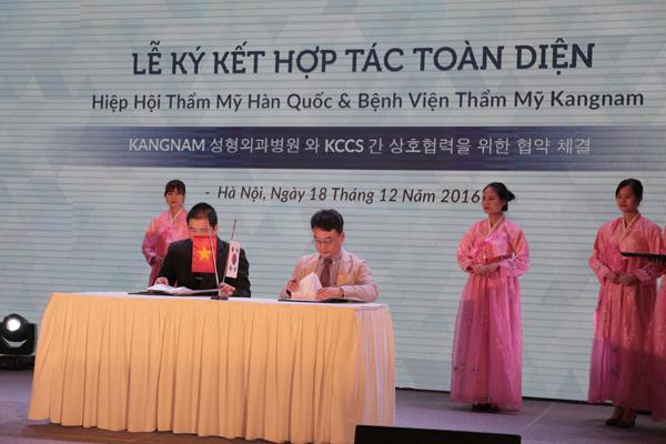 Kangnam – Đối tác chiến lược, hợp tác toàn diện lâu dài về mọi mặt với KCCS