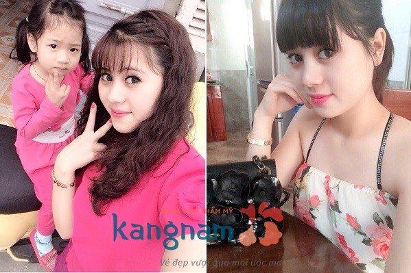 Cảm nhận khách hàng sau tạo môi trái tim Kangnam 1