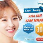 [OFF 30%] Laser Toning Chia tay Tàn nhang – Đón da sáng hồng – FDA chứng nhận