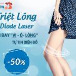 Triệt lông Diode Laser – Sạch lông hiệu quả lâu dài – Không đau rát [OFF 50%]
