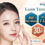 [OFF 30%] Laser Toning – Hết bay tàn nhang – Chỉ sau 1 lần