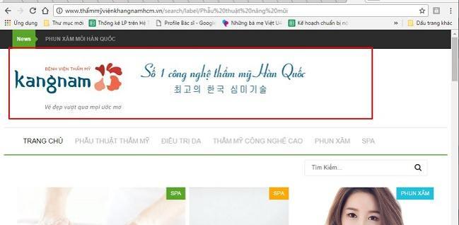 Giả mạo Kangnam lừa đảo khách hàng