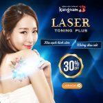 Giảm ngay 30% – Xóa xăm Laser Toning Plus