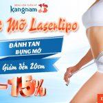 Đánh tan mỡ bụng – Giảm đến 20 cm nhờ LaserLipo (*) – [OFF 15%]