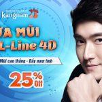 Sửa mũi L-Line 4D – Mũi cao thẳng đầy nam tính – OFF 25%