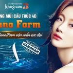 Nâng mũi cấu trúc 4D NanoForm – Công nghệ nâng mũi độc quyền tại Kangnam
