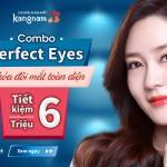 CÓ NGAY mắt trẻ đẹp chỉ với 15 triệu – Combo Perfect Eyes (Cắt mí Plasma + Xóa rãnh lệ)
