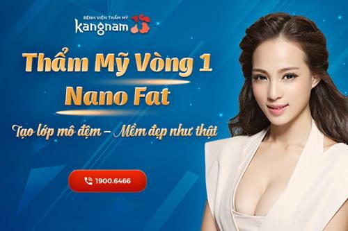 Thẩm mỹ vòng 1 Nano Fat – Công nghệ thẩm mỹ vòng 1 độc quyền tại Kang Nam