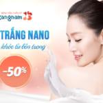 [OFF 50%] Tắm trắng sữa non tinh chất vàng Nano Trắng – Trắng bật Tone