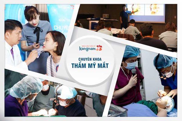 chuyên khoa thẩm mỹ mắt kangnam