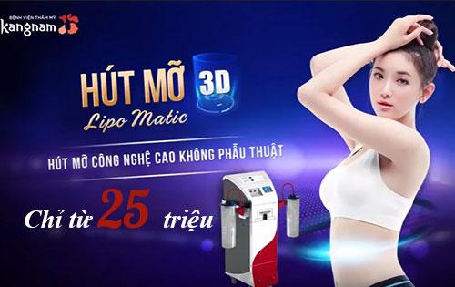 Chi phí hút mỡLipo Matic 3D 1