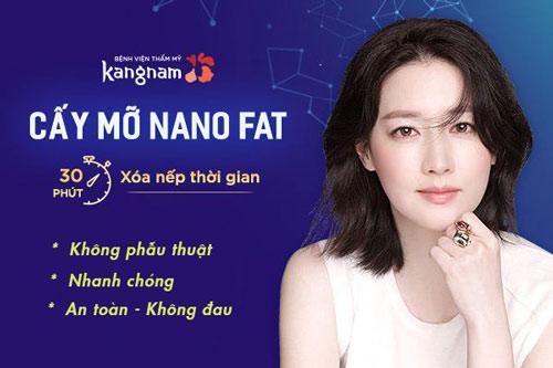 cấy mỡ nano fat