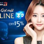 """Gọt mặt V-Line 3D –  Chuẩn tỉ lệ vàng – Đẹp không """"góc chết""""  [OFF 15%]"""