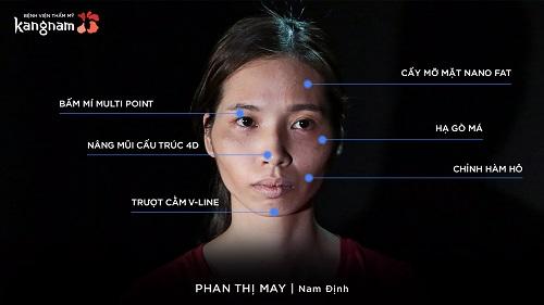 Phan Thị May Hành trình lột xác 2018 - 2