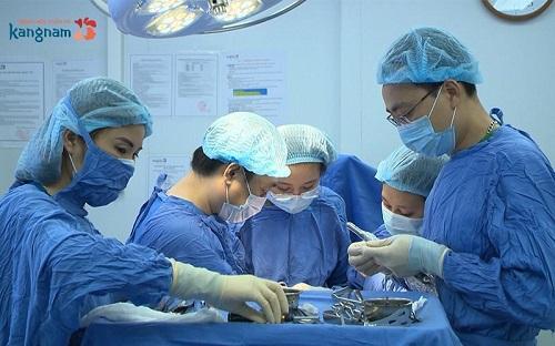 phẫu thuật nâng mũi l line cho nam
