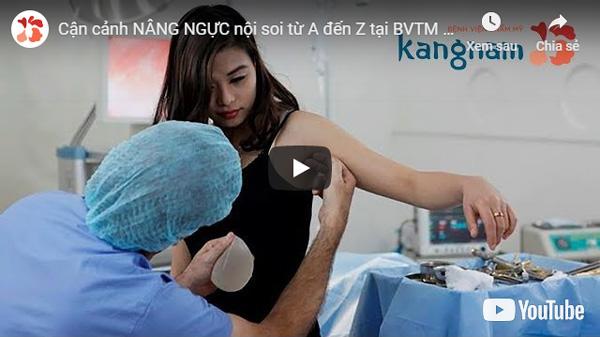 video nâng ngực nội soi