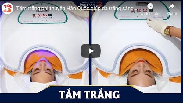 video tắm trắng phi thuyền