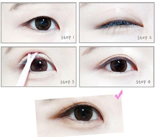 cách tạo mắt 2 mí không phẫu thuật