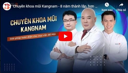 video sửa mũi kangnam