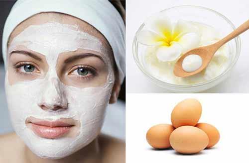 mặt nạ trứng gà và sữa chua