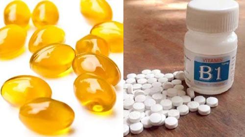 mặt nạ vitamin e và b1