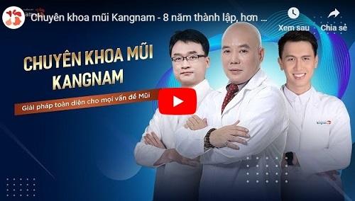 video chuyên khoa mũi kangnam