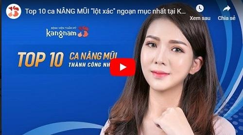 video nâng mũi kangnam