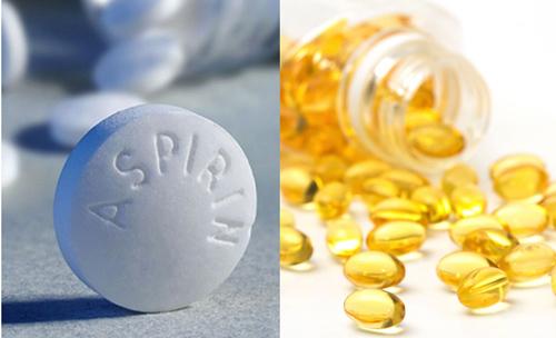 trị mụn bằng aspirin và vitamin e