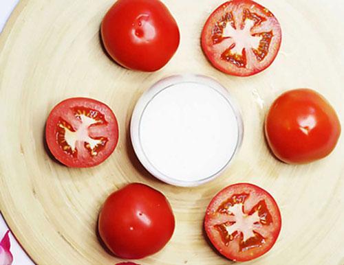 cách trị nám bằng cà chua