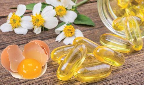 vitamin e trị nám