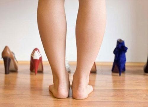 bắp chân to