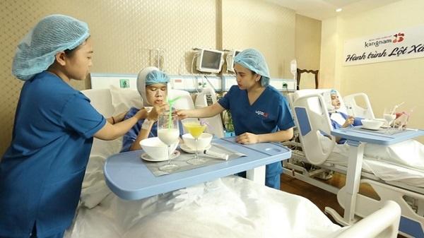 cách chăm sóc sau phẫu thuật hàm hô