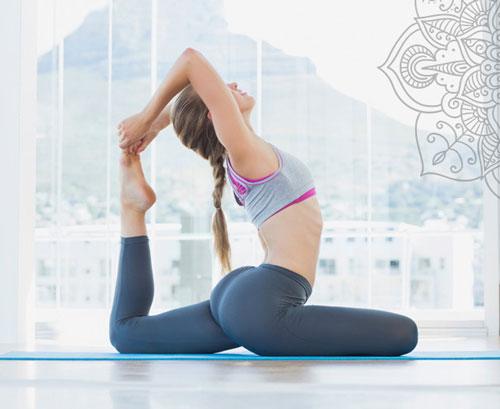 cách tập yoga giảm mỡ mông