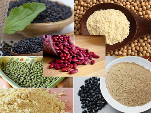 Lose weight properly with black bean powder