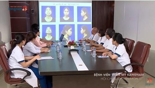 cao thị lan phẫu thuật thẩm mỹ tại kangnam