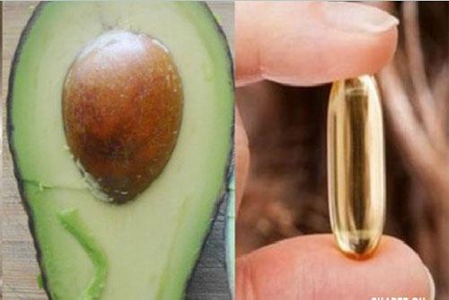 mặt nạ bơ và vitamin e