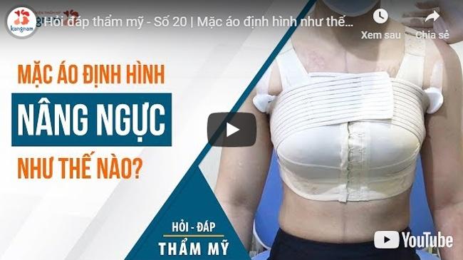 lưu ý sau nâng ngực