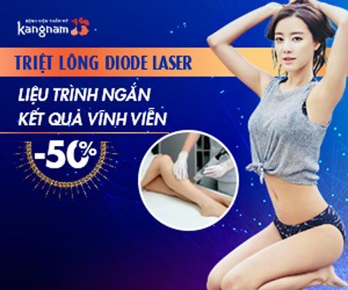 triệt lông diode laser tphcm