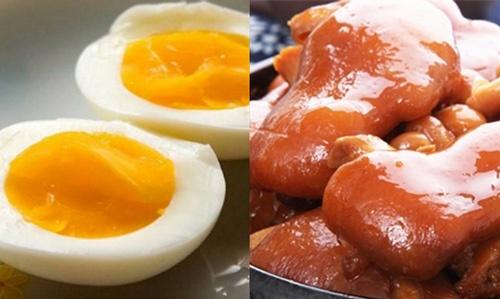 ăn trứng gà tăng vòng 1