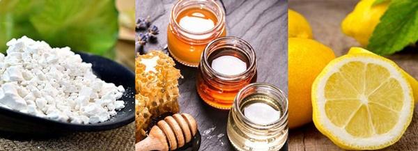 bột sắn dây và mật ong
