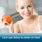 10 cách làm trắng da bằng cà chua đơn giản tại nhà cho hiệu quả bất ngờ