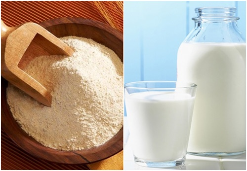 cách làm trắng da toàn thân bằng sữa tươi