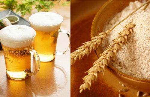 cách làm trắng da từ cám gạo