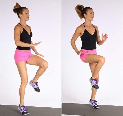 nhảy aerobics